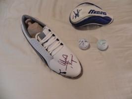 Lexi Thompson Signed Shoe