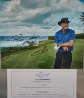 Greg Norman Signed Photo